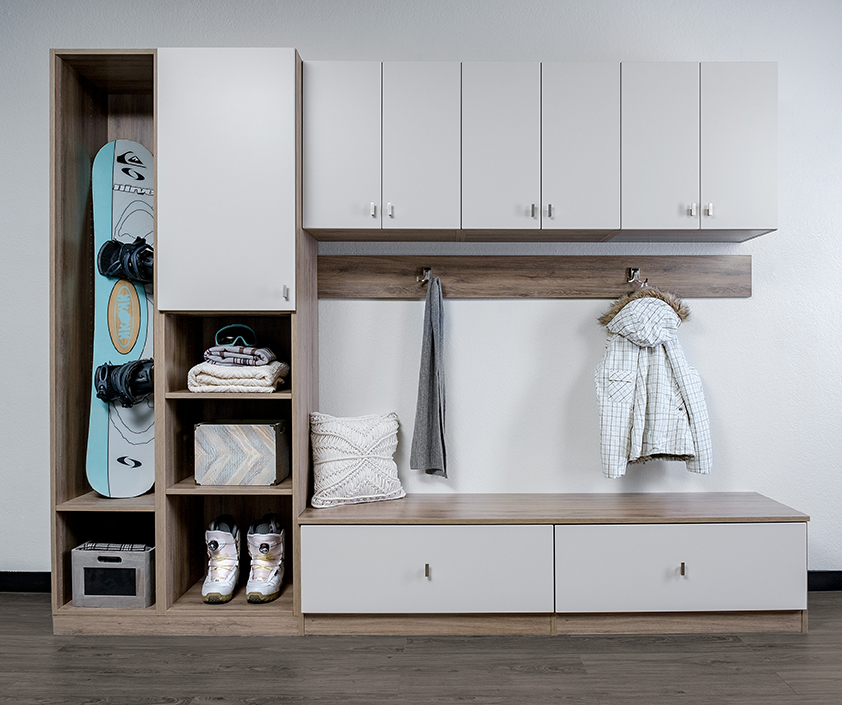 Closet Envy Entryway storage