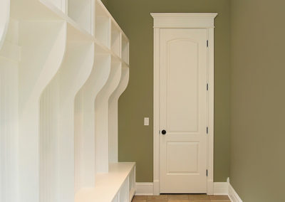 White Mudroom Bench
